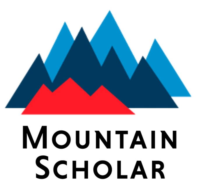 Colorado and Wyoming Mountain Scholar logo